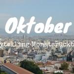 Storytelling Monatsrückblick Oktober