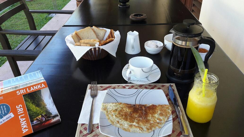 Frühstück im Coco Cabana