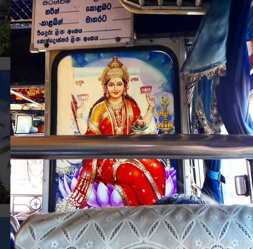 Lakshmi Sri lanka Bus