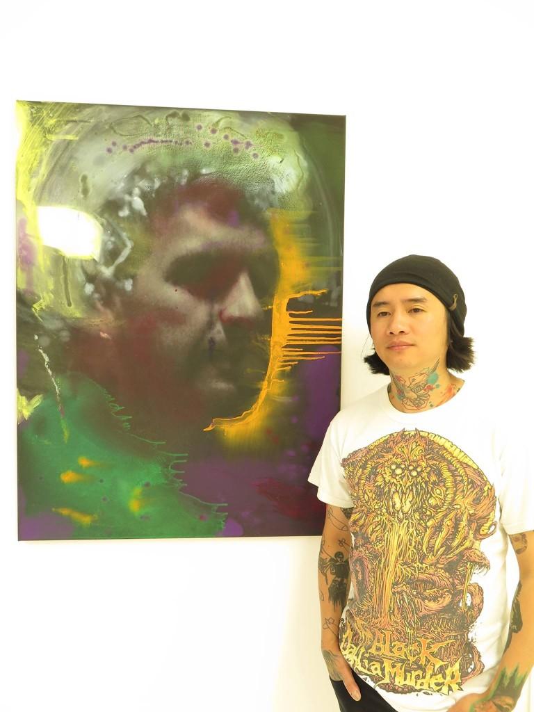 """Thai Ho Pham """"Danksagung an den Scheinheiligen"""". Foto: Galerie Anna25"""