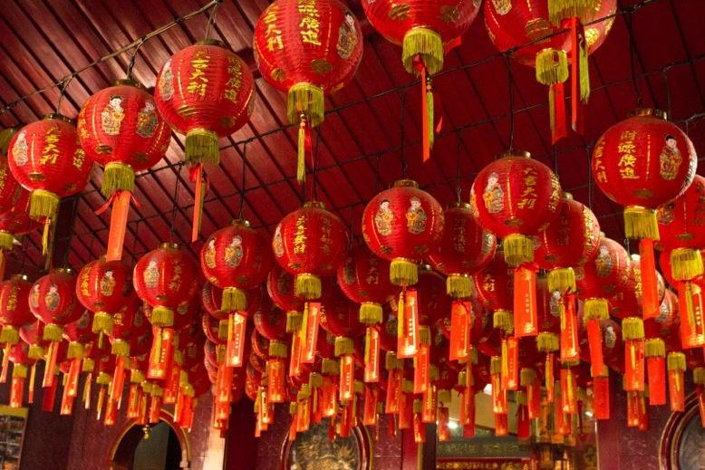 Laternen in Chinatown. Foto: Travel and Lipsticks