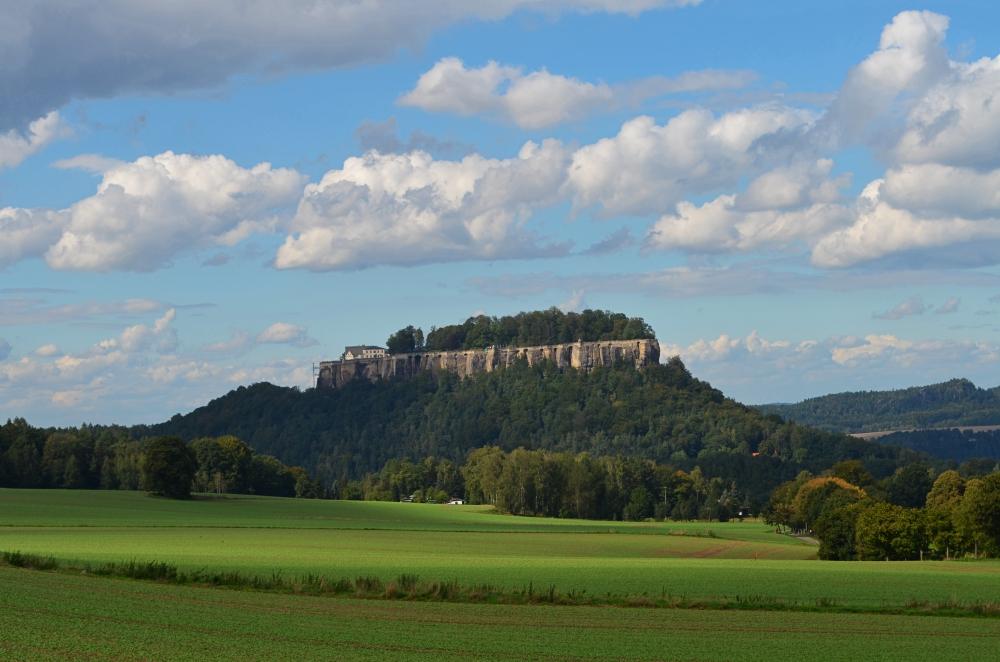 Die Festung Königstein. Foto: Julia Schattauer
