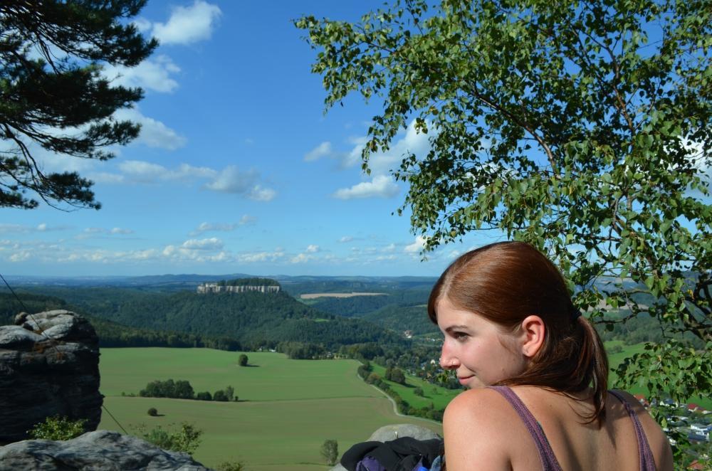 Ausblick vom Pfaffenstein. Foto: Julia Schattauer