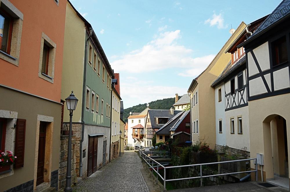 Das Städtchen Königstein. Foto: Julia Schattauer