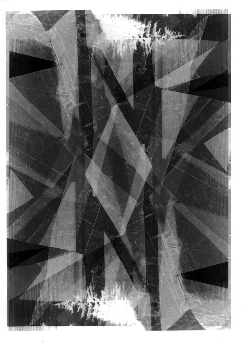 Raymond Gantner, o.T., 2014, chemische Analogfotografie, 24 x 18 cm