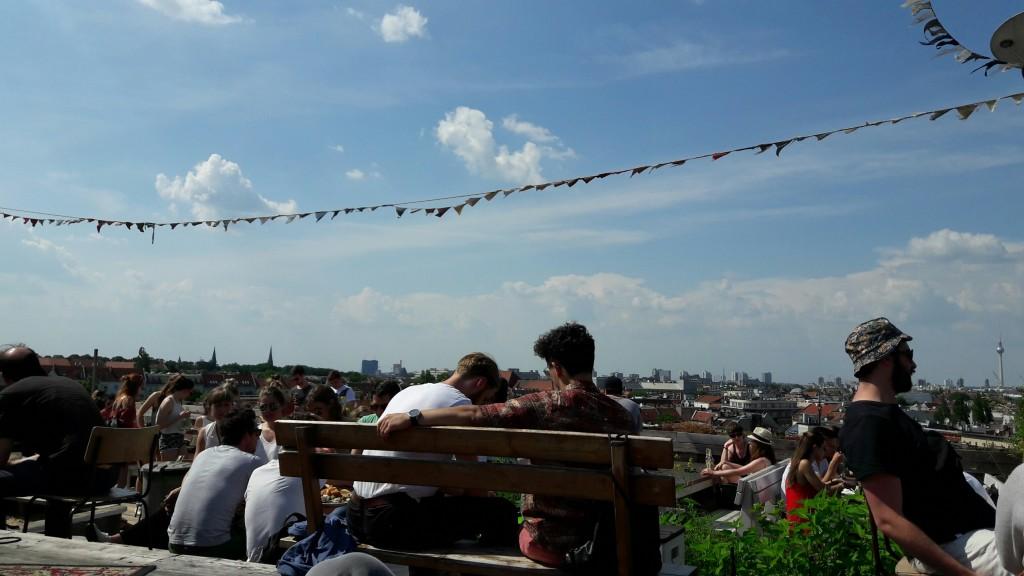 Klunkerkranich Dachterrassen in Berlin