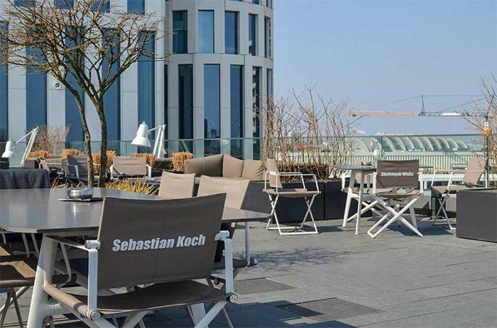 Dachterrassen in Berlin: Upper West SkyBar